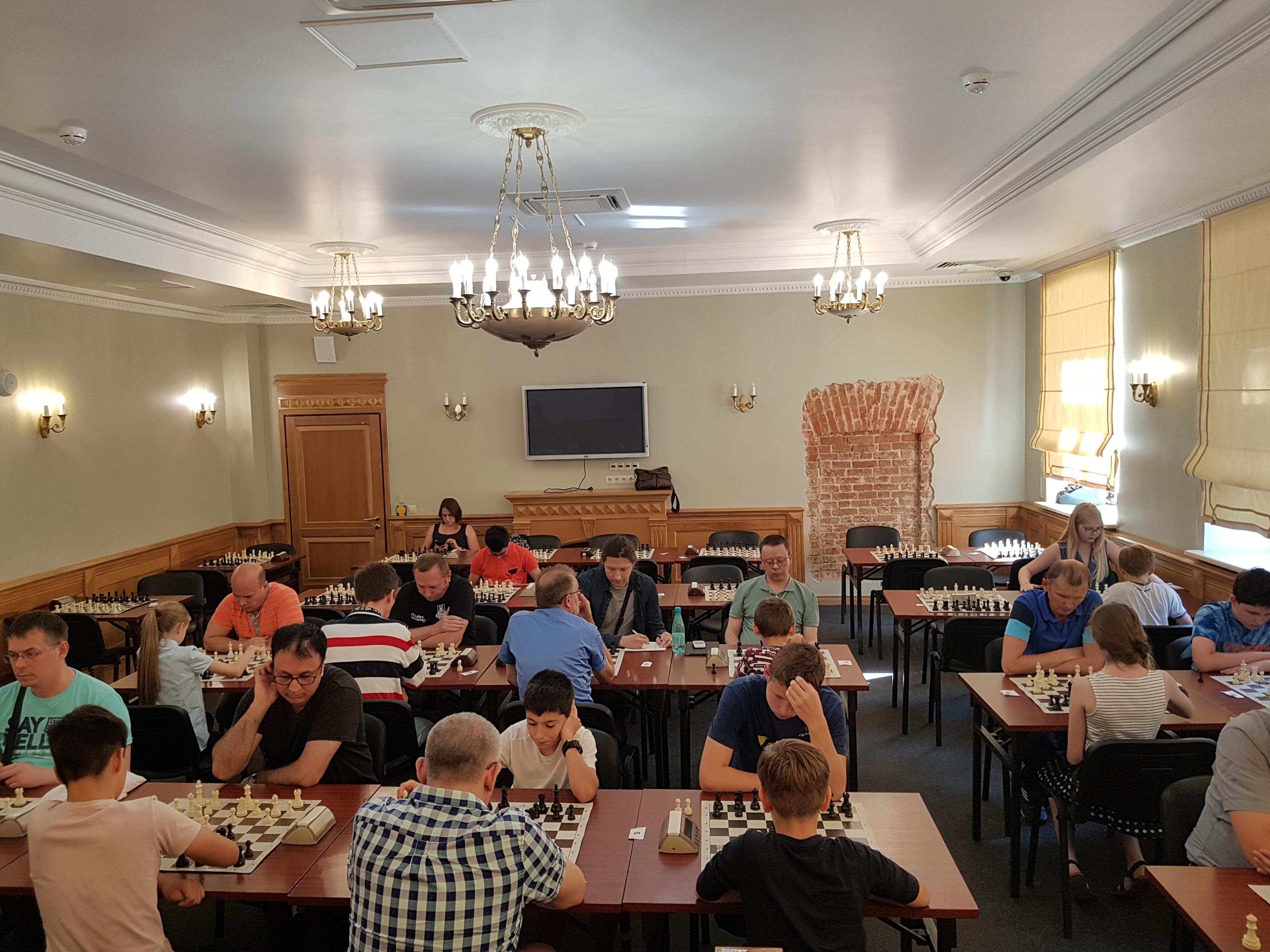 Турнир по быстрым шахматам — РАПИД 10+5